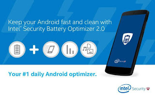 8. Battery Optimizer & Cleaner by McAfee