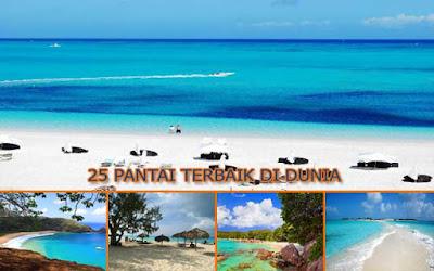 25 Pantai Terbaik Di Dunia  Pilihan Wisatawan