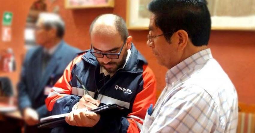 SUNAFIL- Cusco detectó más de 100 trabajadores en el sector educación sin derechos laborales - www.sunafil.gob.pe