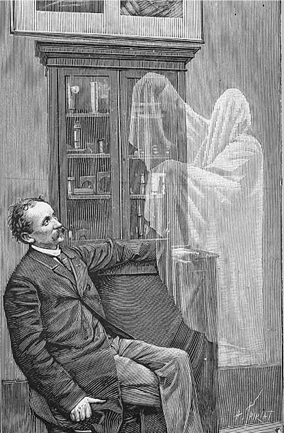Image result for writer haunted by ghosts