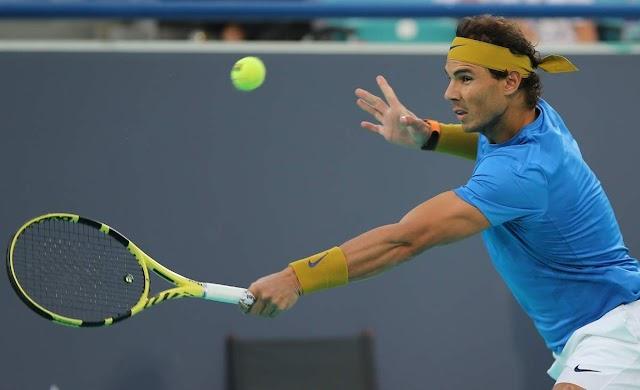 Rafael Nadal 'satisfied' despite post-surgery comeback defeat