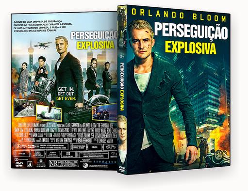 CAPA DVD – Perseguição Explosiva DVD-R