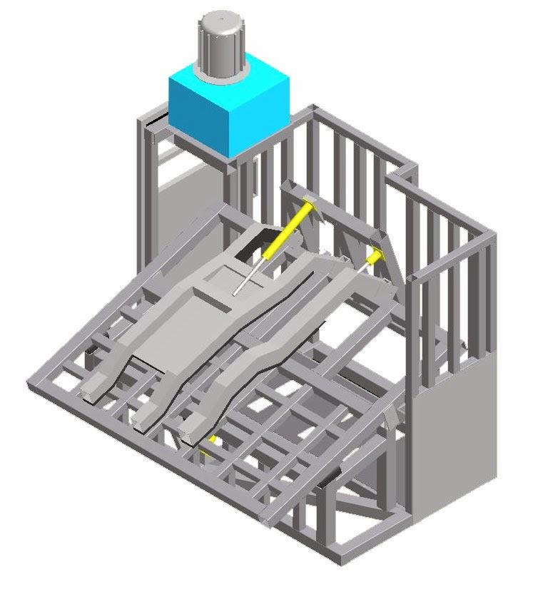 Restraining Box / Kotak Perebahan Sapi MARK IV