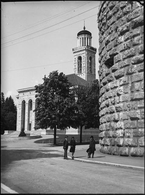 Reformierte Stadtkirche Solothurn Schweiz - um 1920/30