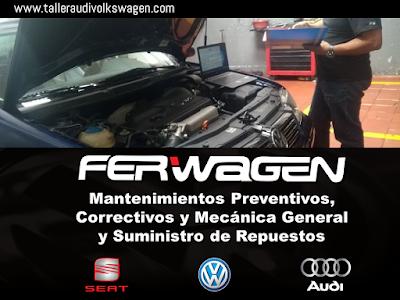 Ferwagen Taller Audi Bogota