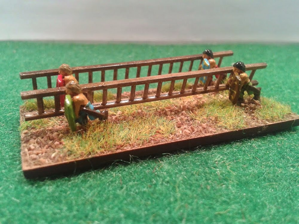 Gauls with ladders pictures 2