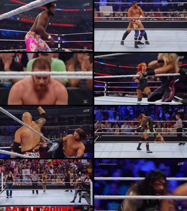 WWE Battleground 2016 PPV WEBRip 480p x264