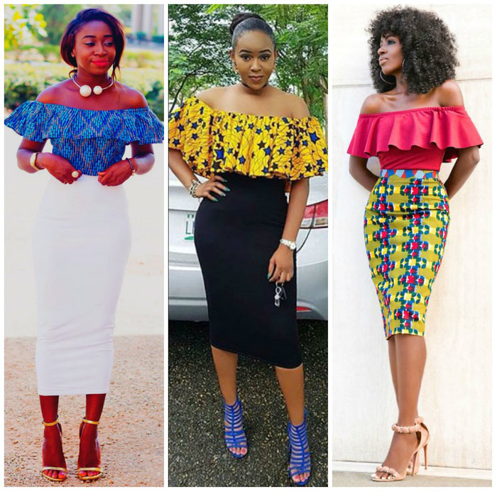 Latest Ankara Pleated skirt styles (1)