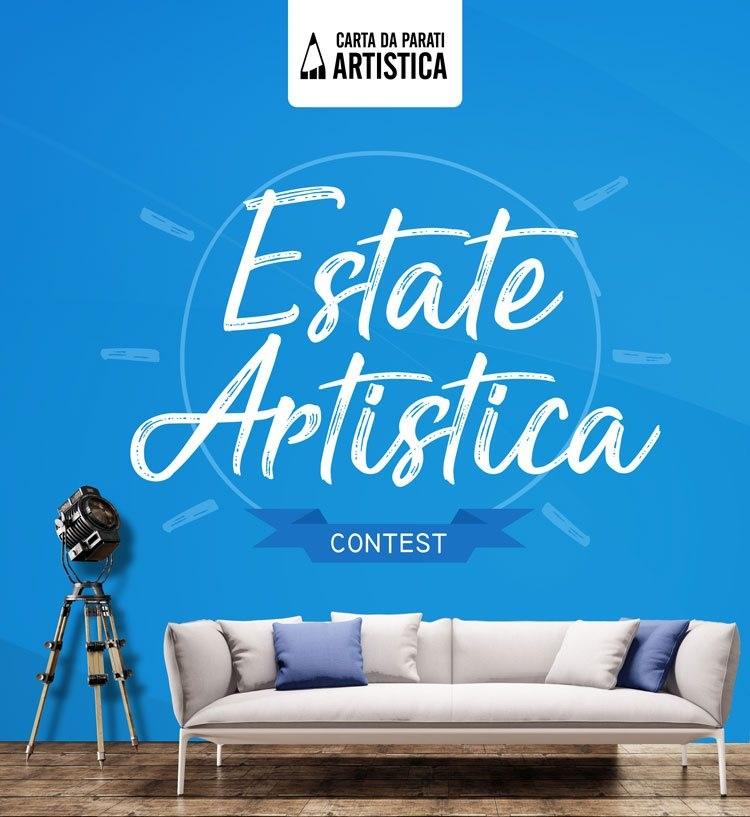 All colors of design estate artistica il contest estivo for Carta da parati artistica