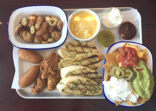all piled high starter at sizzling pubs