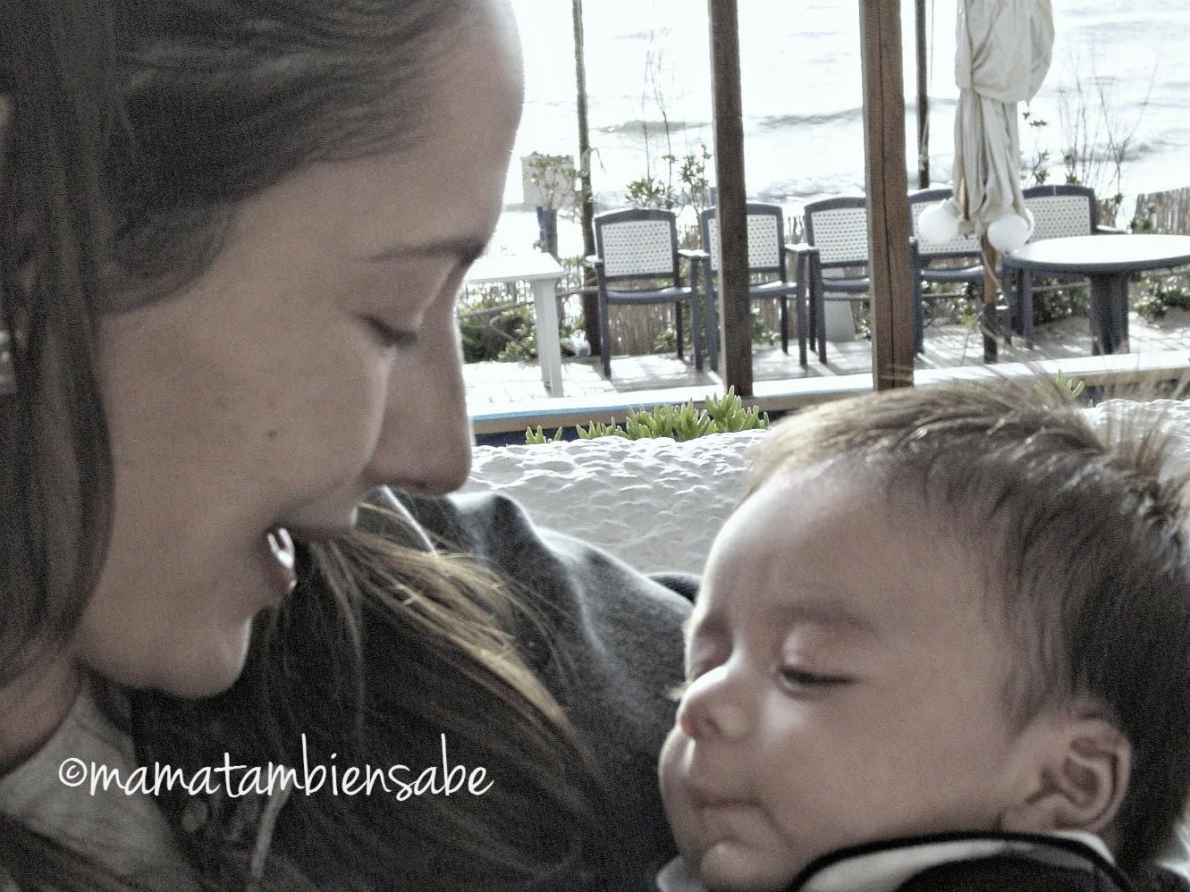 ElMayor con tres meses - aún puedo recordar su olor de bebé