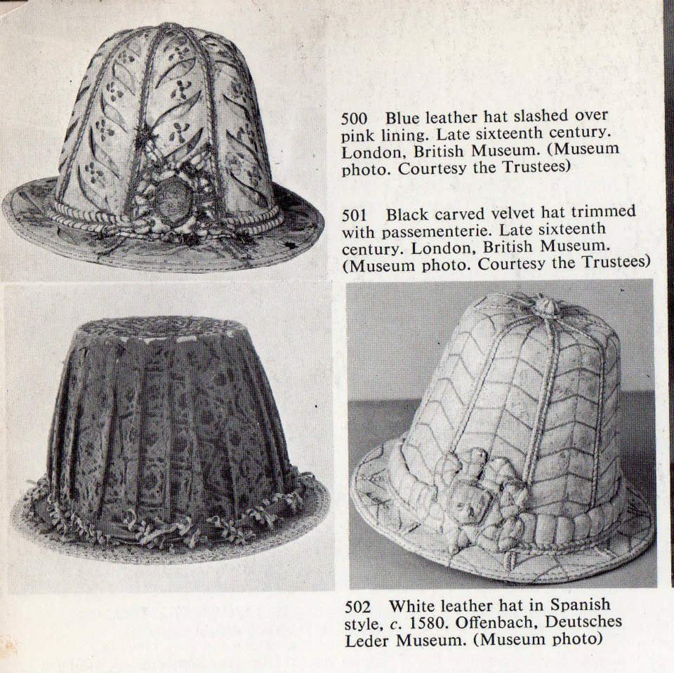 1ddedad9295 Handmade Historical  Elizabethan Top Hats