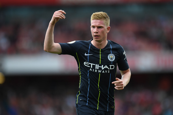 Manchester City confirm Kevin De Bruyne will be out for three months