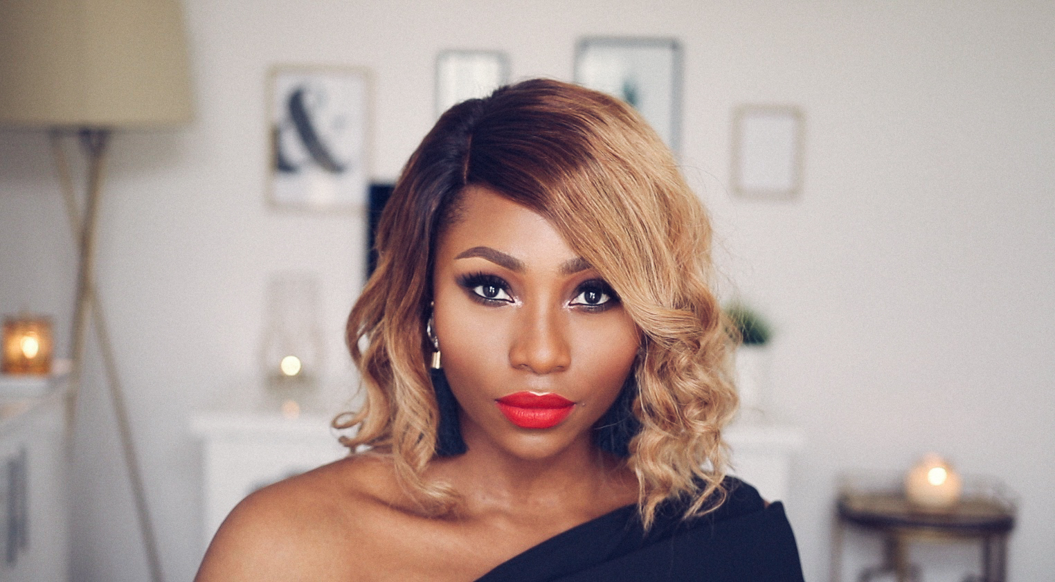 Valentines day makeup tutorial black women dimma umeh bombshell valentines day grwm makeup tutorial outfit dimma umeh baditri Gallery