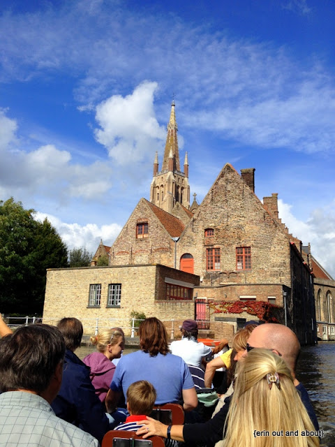{Erin Out and About} Boat Tour in Bruges