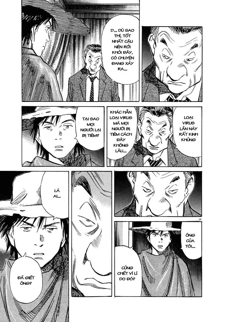 20th Century Boys chapter 244 trang 35