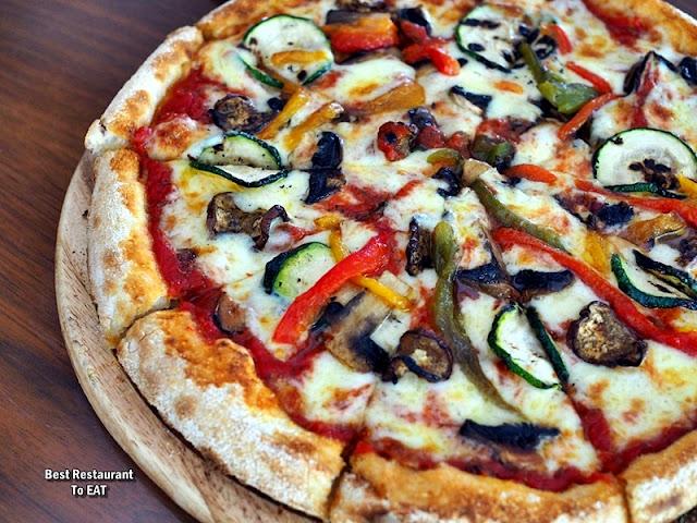 PASSIONE RISTORANTE ITALIANO Menu - Vegetarian Pizza
