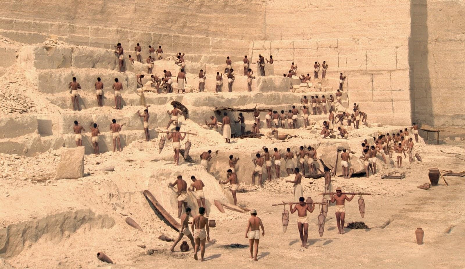 Resultado de imagen para canteras de la gran pirámide