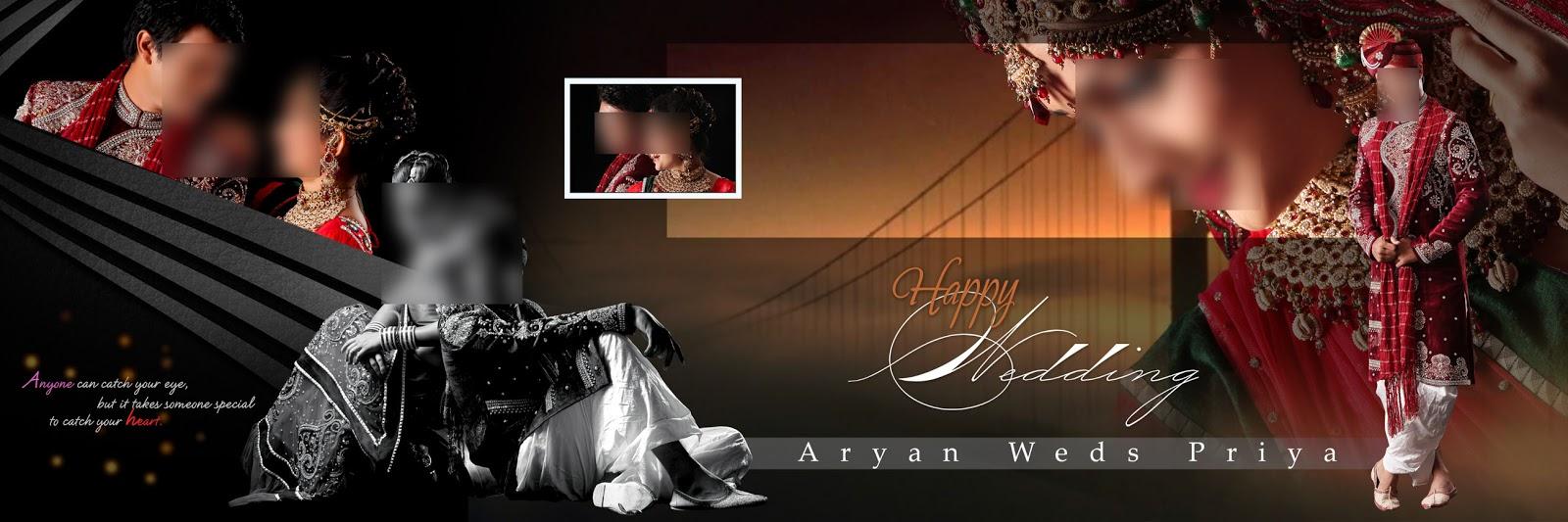 Wedding Album Design 12x36 Psd Templates Free Download