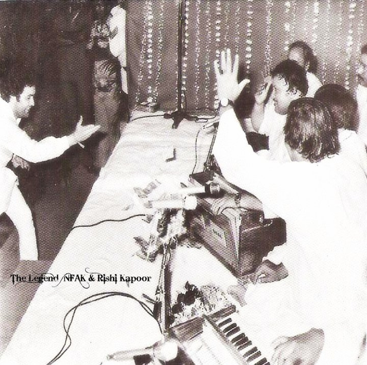 When Nusrat Fateh Ali Khan performed at Rishi Kapoor<sup>s</sup> wedding | NusratSahib.Com