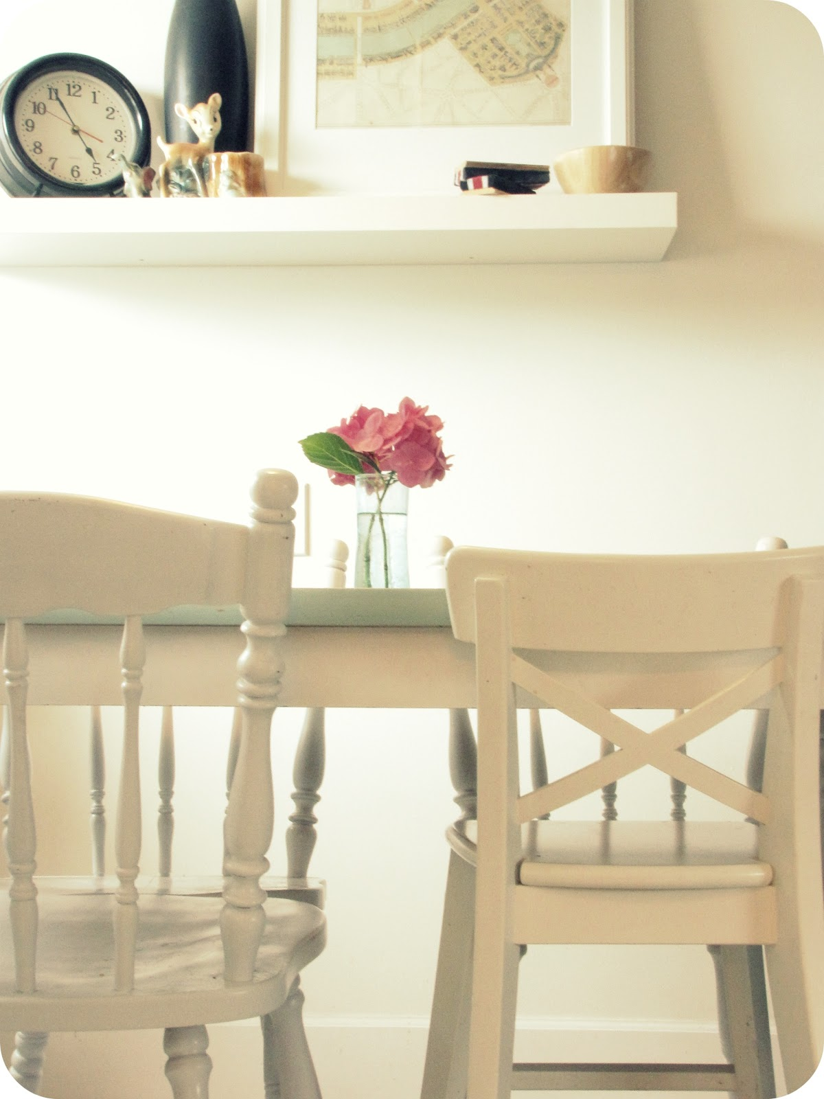 My House Of Giggles: Repainted Seafoam Green Kitchen Table