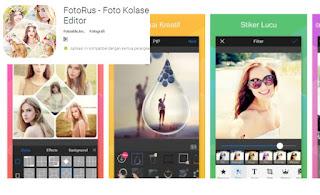 FotoRus - Foto Kolase Editor