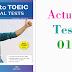 Listening Tomato TOEIC Actual Test 01