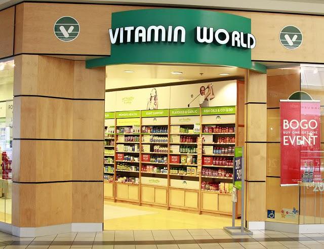 Vitamin World: Suplementos alimenticios en Miami