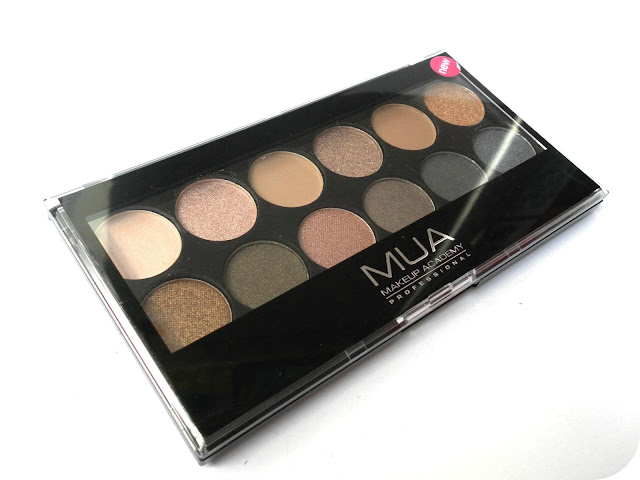 A picture of MUA Undressed Eyeshadow Palette