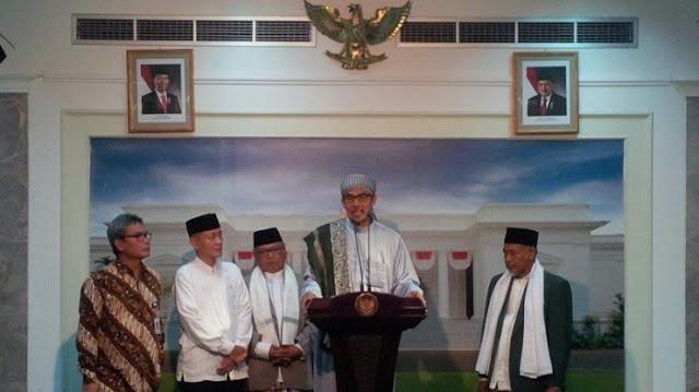Presiden Jokowi Minta Bantuan Ulama Berantas Hoaks