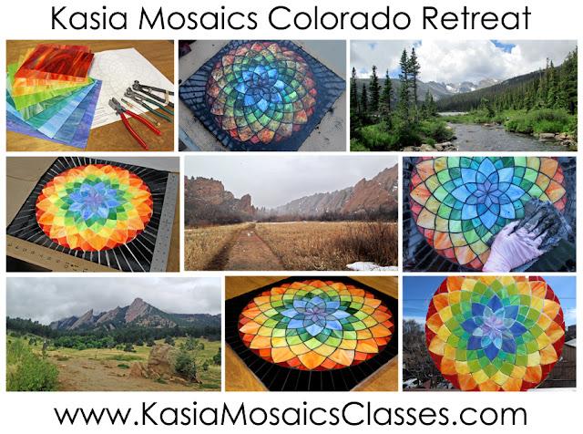 http://www.kasiamosaicsclasses.com/course/colorado-mosaic-retreat-summer-2016/