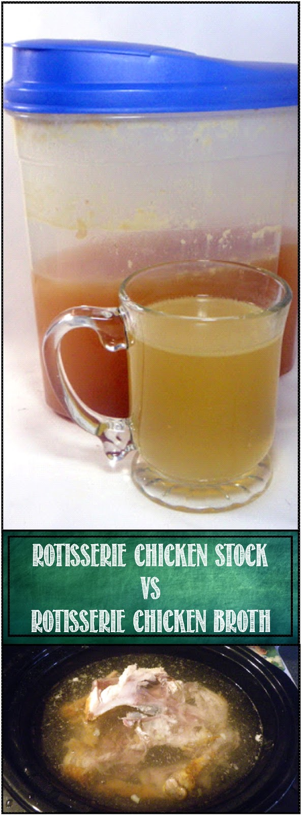 52 Ways to Cook: Rotisserie Chicken Stock vs. Rotisserie ...