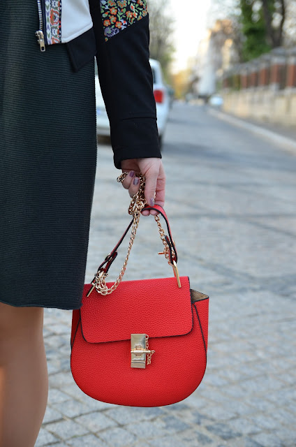 red bag chloe dupe