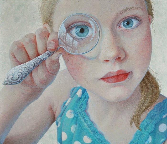 Нидерландский художник-самоучка. Jantina Peperkamp