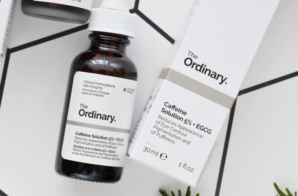 The Ordinary, Caffeine Solution 5% + EGCG (Serum pod oczy z kofeiną i zieloną herbatą)