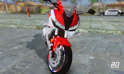Download mod moto Honda CBR500R 2018 para GTA San Andreas , GTA SA PC