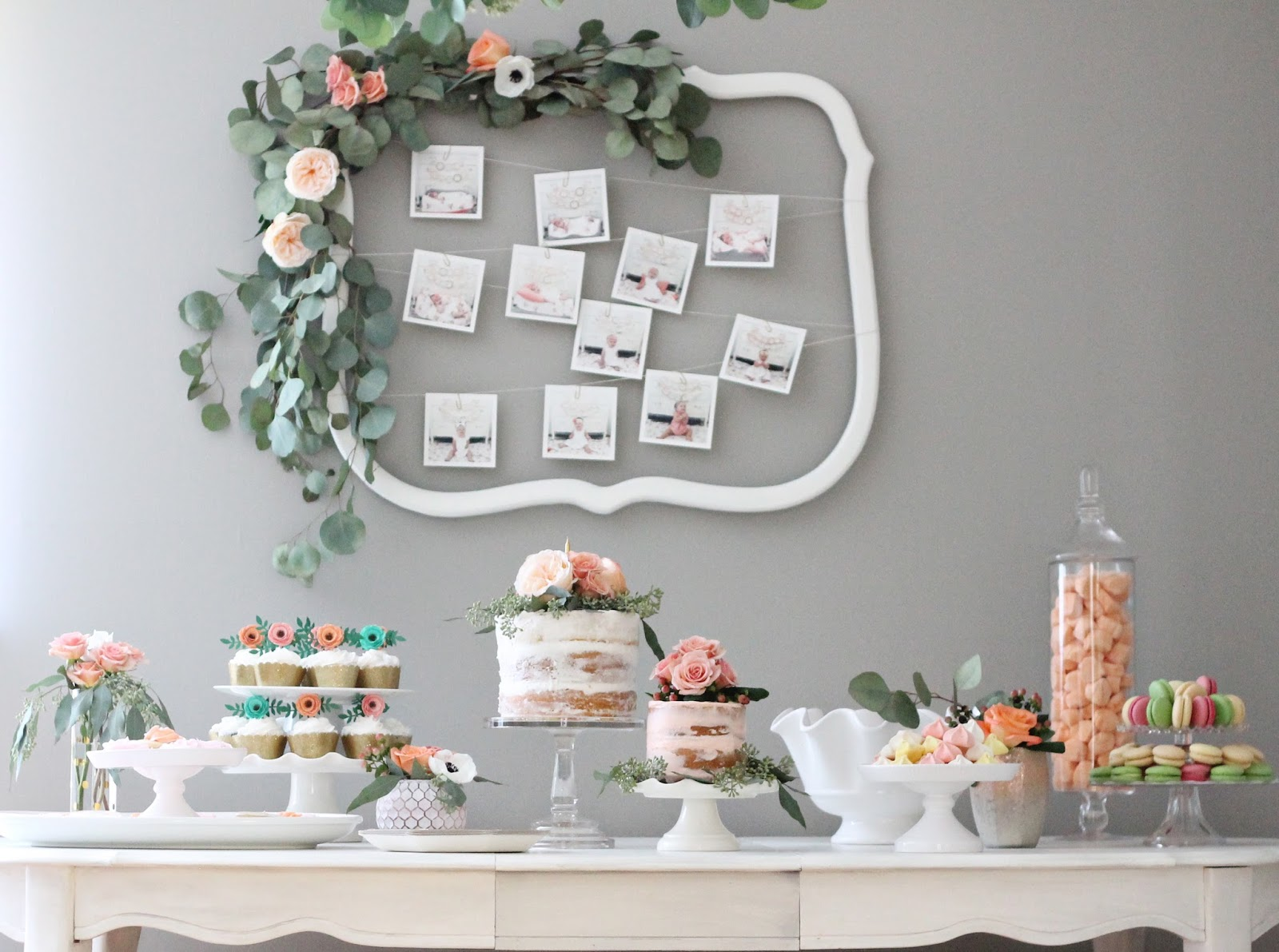 12th And White A Rifle Paper Co Inspired Floral First Birthday Party