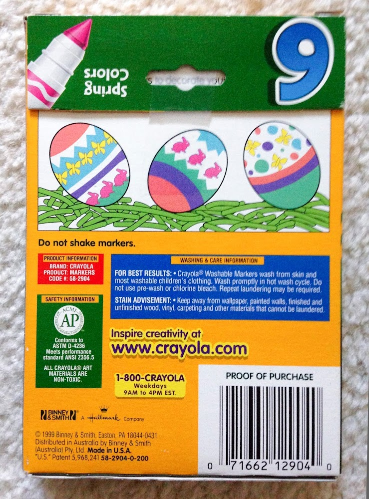 Crayola Special Washable Markers and Crayons | Jenny\'s Crayon Collection