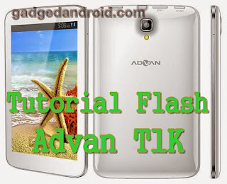Tutorial Cara Flash Advan Vandroid T1K