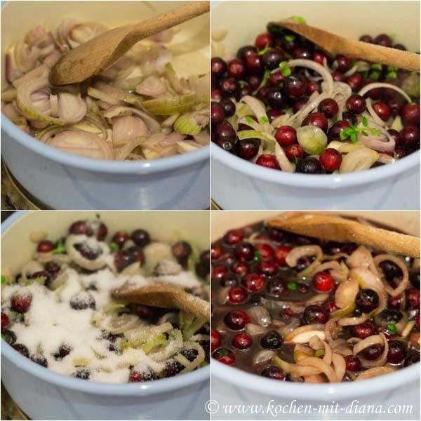 Cranberry Schalotten