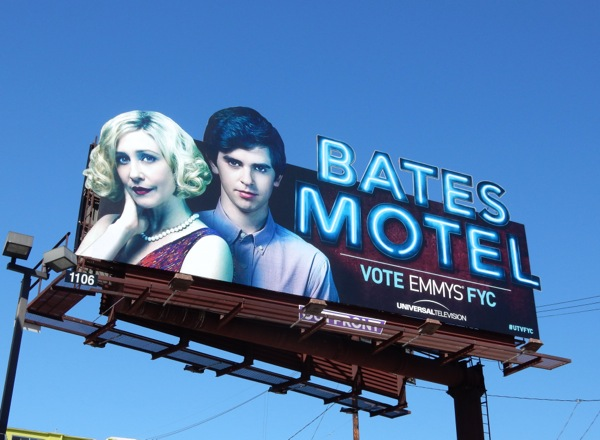 Bates Motel 2015 Emmy special extension bilboard