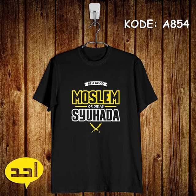 Moslem Suhada Jual Kaos Dakwah Islam