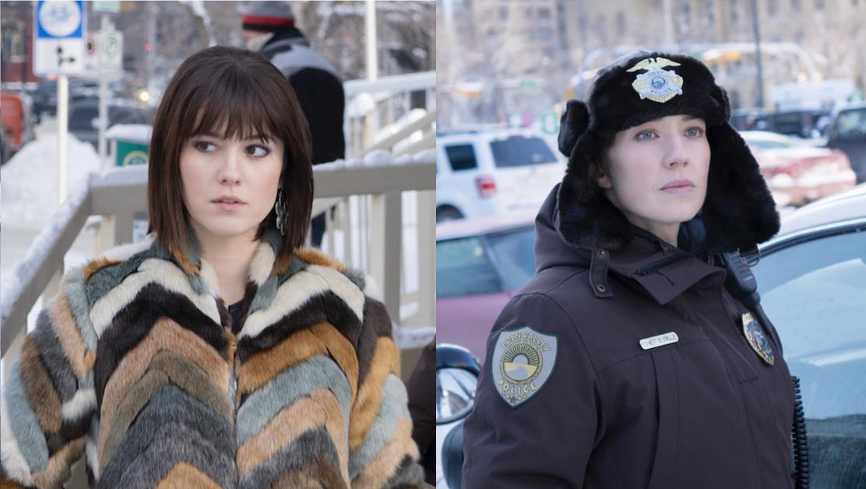 Mary Elizabeth Winstead y Carrie Coon en 'Fargo'