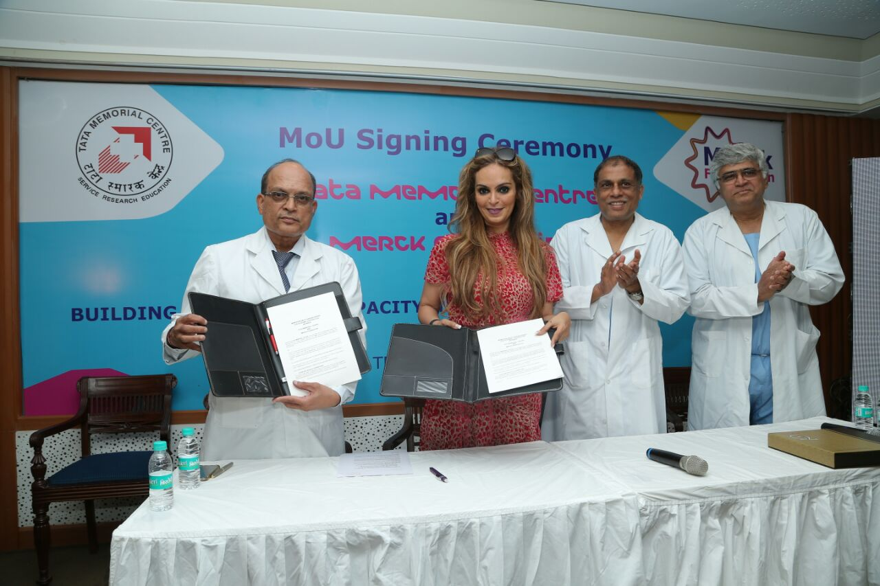 Merck Foundation and Tata Memorial Centre Signs MOU to build Cancer ...