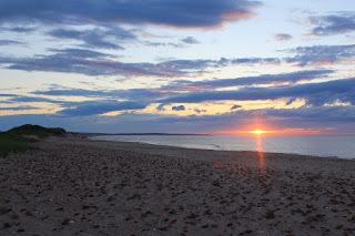Sunset at Prince Edward Island National Park