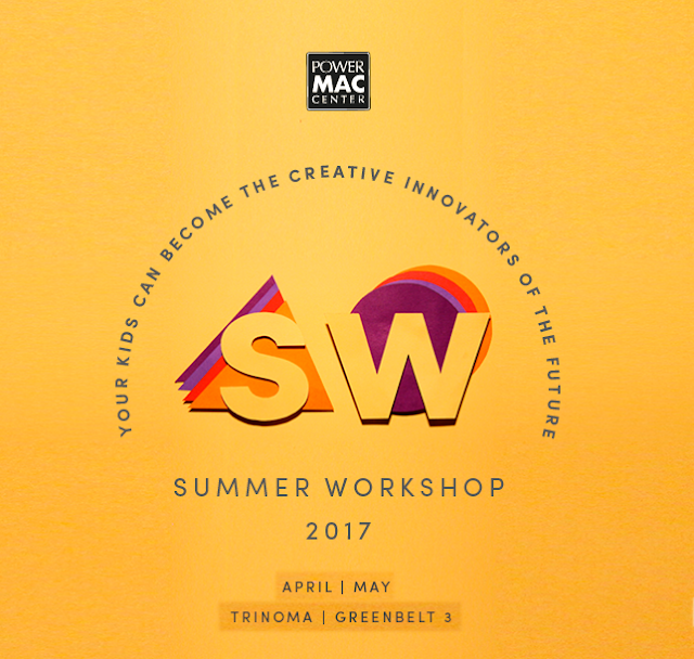 Help your kids become creative innovators of the future with Power Mac Center Summer Workshop 2017