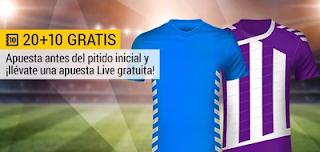 bwin promocion Oviedo vs Valladolid 20 abril