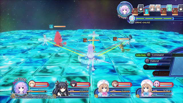 Megadimension Neptunia VII Full Version Free Download Screenshot 1