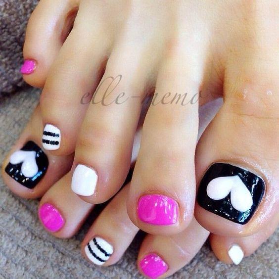 Do it yourself diyideas magazine toe nail design adorable toe nail designs idea pubblicato da do it yourself solutioingenieria Images