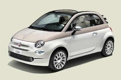 Fiat 500C Sessantesimo (2017) Front Side